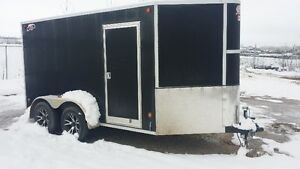 6x12 Enclosed V-Nose Trailer Strathcona County Edmonton Area image 2