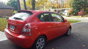 2009 Hyundai Accent Hatchback in Excellent Condition