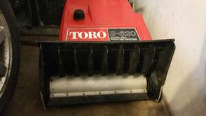 small Snow blower / thrower toro Gas 2 stroke