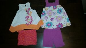 2 size 3  - 2 piece summer outfits