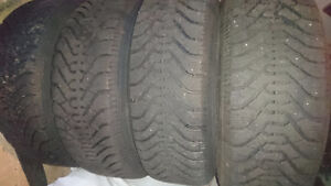 Winter Tires only used a few rides.