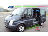 2012 Ford Transit 2.2TDCi 125PS EU5 280S Low Roof Tourneo SWB Limited