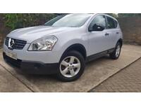 Nissan Qashqai 2.0 2WD 2007 Automatic low mileage 3 Months WARRANTY