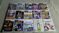Wii, Gamecube, SNES, N64, PS1, Gameboy, DS, 3DS games