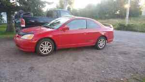2001 Honda Civic SI for parts