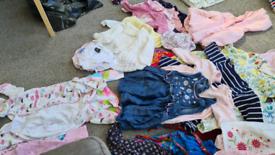 Girls clothing bundle age 6-12 months