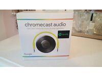 Chrome cast audio