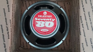 Celestion Seventy 80 (Red Label) 1/2 of New Price!!!