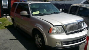 2006 Lincoln navigator parts
