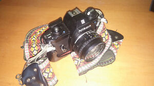 Nikon EM SLR, 35mm film camera Prince George British Columbia image 1