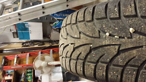 studded winter tires 2 sets of 4 Regina Regina Area image 2