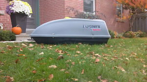 2006 Explorer rooftop cargo box by Karrite (Used once!!)