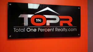 3D Reception Logo Sign / Door Signs / Acrylic Signs