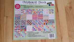 Chipboard scrapbooking supplies