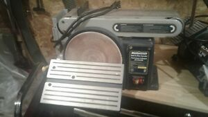 Mastercraft belt/disc sander