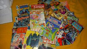 Comics 60 different Comics for Sale