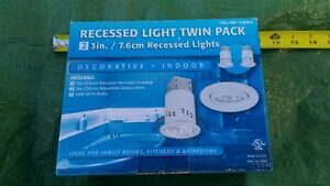 Recessed ceiling lights Twin Pack