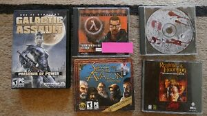 5 PC Games $15 OBO, will consider selling separately.