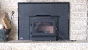 Timberwolf fireplace insert