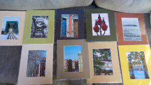 5x7 photos matted by Saint John artist Deb Humen