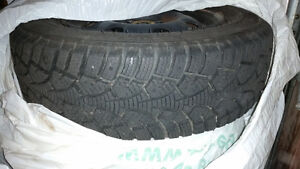 Winter tires 175/70R13 Kitchener / Waterloo Kitchener Area image 2