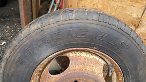 8.75 r 16.5 lt D rated tires set of 4 off a chevy