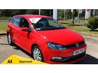 2015 Volkswagen Polo 1.4 TDI SE with DAB Radio and Manual Diesel Hatchback