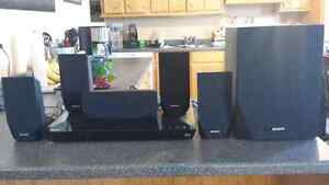 Sony 3D Smart blu ray surround sound system