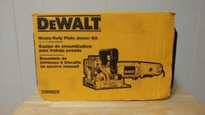 DeWalt Heavy Duty Plate Joiner Kit (New)