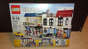 LEGO CREATOR BIKE SHOP AND CAFE