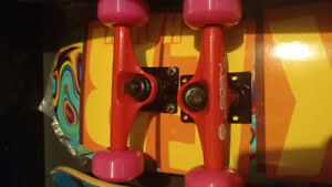 Skateboards with or without trucks