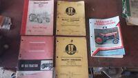 Large Lot of Massey Ferguson Tractor Machinery Service Manuals