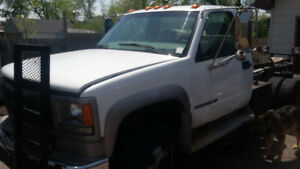 1999 Gmc 3500 HD Diesel with snow plow