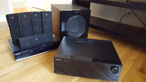 Samsung home theatre 5-speakers, subwoofer, receiver, BluRay