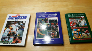 3 Great Rugby books