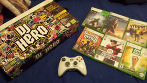 XBOX 360 Controller and Games!