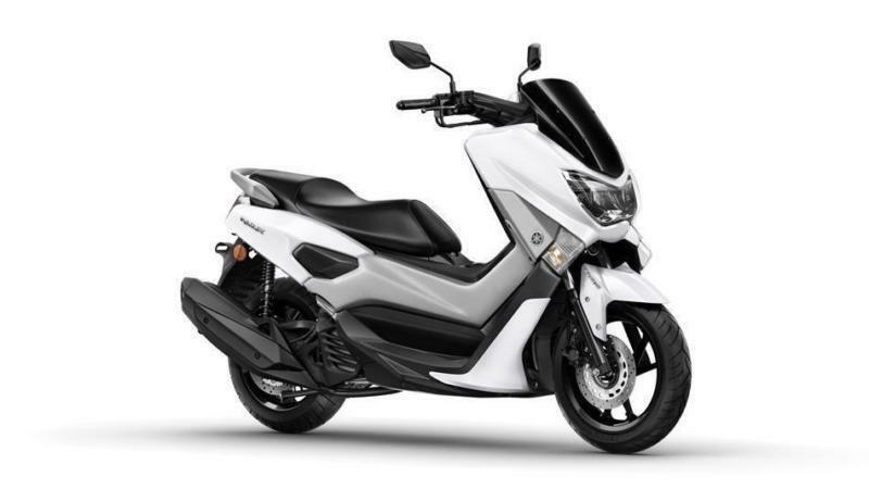 2017 YAMAHA NMAX 125 ABS MILKY WHITE, BRAND