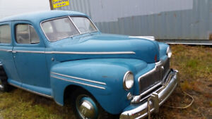 1948  Murcury 8 Great shape for restoration