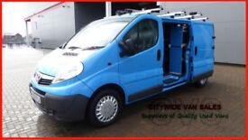 2010 VAUXHALL VIVARO 2.0CDTi 115ps EURO IV 2900 LWB BLUE DIESEL VAN