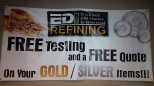 Free Testing and a Free Quote on your Gold & Silver Items!!!