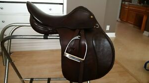 "Collegiate 17 1/2"" All Purpose Saddle"