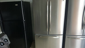 Ge French door bottom-freezer fridge