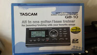 guitare and bass trainer- tascam gb-10