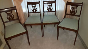 Duncan Phyfe dining room chairs