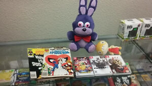 Nintendo Switch games and Comic books for sale!