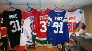 BRAND NEW MONTREAL CANADIENS CAREY PRICE JERSEY COLLECTION