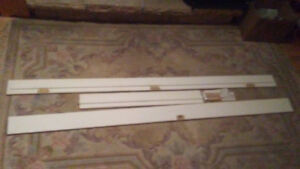 4-9/16 primed mdf single pre-machined door frame.