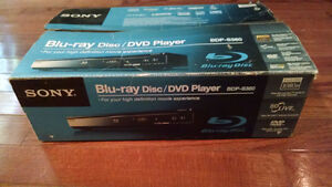 Sony Blu-Ray DVD Player For Sale