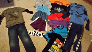 Size 6 for boys   All $10