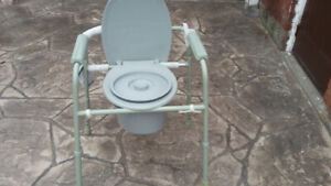 Portable Commode or portable toilet
